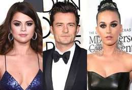 Orlando Bloom-Orlando Bloom a trompé Katy Perry avec...Selena Gomez (photos) !