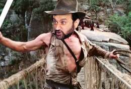 Hanouna Jones-Cyril Hanouna en Indiana Jones, une parodie hilarante