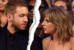 Taylor Swift-Calvin Harris et Taylor Swift ont rompu